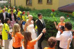 Hochzeit Theresa und Patrick - Kirche 2011