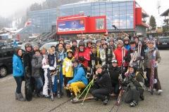 Masshoppers-Skifahren 2012