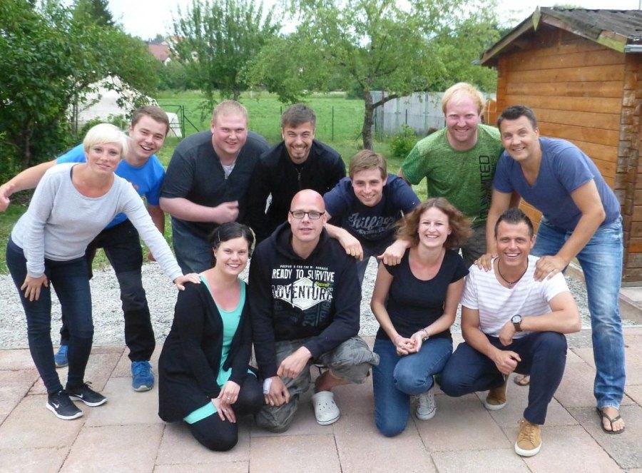 Gruppenfotos des Ausschusses der Masshoppers (2017)